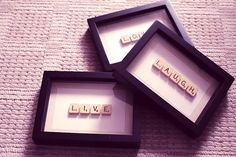 Scrabble DIY I am all over this!!!! Love it.
