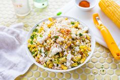 The best summer salad ever, grab some corn cobs and prepare the forks!