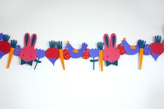 Free Printable Easter Garland