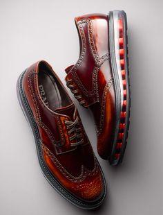 Footwear I Like: PRADA Levitate Wingtips
