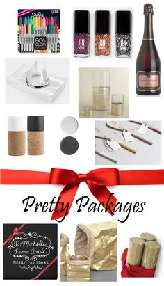 HOSTESS GIFTS with PRETTY PACKAGING!