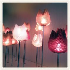 Mark Bloomfield's 3D printed lights