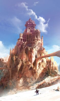 Dongick Lee has a great talent for making a background seem massive and sometimes insurmountable.