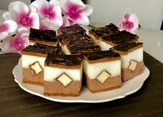 Kapucynek - ciasto bez pieczenia - Blog z apetytem Biscuit Cake, Polish Recipes, Nutella, Waffles, Biscuits, Cheesecake, Food And Drink, Pudding, Favorite Recipes