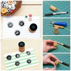 Another Cork Stamp | 30 Adorable And Unexpected DIY Stamp Projects