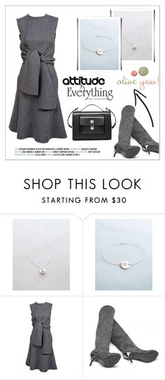 """Oliveyewjewelry"" by water-polo ❤ liked on Polyvore featuring Balenciaga, polyvoreeditorial, handmadejewelry and oliveyew"