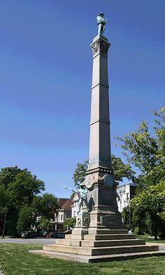 Civil War monument in Louisville, Kentucky