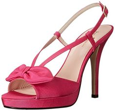 kate spade new york Women's Rezza Platform Sandal, Hot Pink, 8 M US -- Read more reviews of the product by visiting the link on the image.