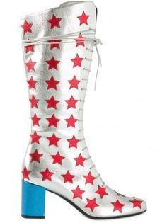 Yves Saint Laurent Red Stars S.S.15