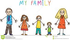 kid family drawing - Google Search