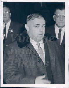 1962 John Puslis Myles O Donnell Felony Court Murder Charge Man Press Photo
