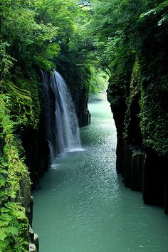 Waterfall Canyon, Takachiho 高千穂, Miyazaki, Japan