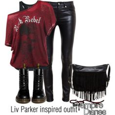 Liv Parker inspired outfit/TVD