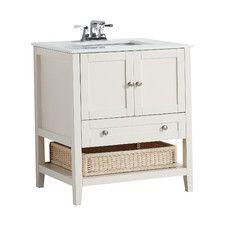 "Cape Cod 31"" Single Bathroom Vanity Set"