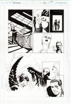 100 Bullets #100 page 23 - Eduardo Risso Comic Art