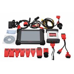 Original Autel MaxiSYS Pro MS908P Car Diagnostic System + with WiFi / Bluetooth Support J-2534 Online Programming