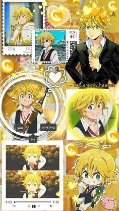 Teen Wallpaper, Anime Wallpaper Phone, Seven Deadly Sins Anime, 7 Deadly Sins, Cute Cartoon Wallpapers, Animes Wallpapers, Otaku Anime, Anime Naruto, Trippy Photos