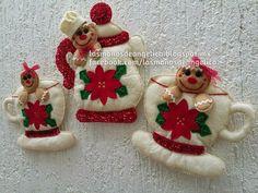 Christmas Themes, Christmas Ornaments, Holiday Decor, Felt Embroidery, Gingerbread, Manta Polar, Home Decor, Bananas, Sky