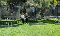 Home & Family - Episodes - Springfree Trampoling with Lisa Druxman   fit4mom.com  Home & Family