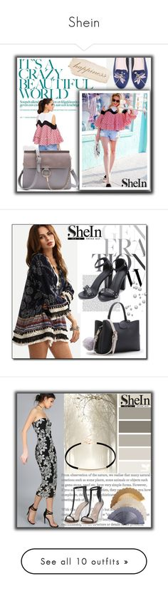 """""""Shein"""" by melikasalkic ❤ liked on Polyvore featuring WithChic, Vince Camuto and Diane James"""