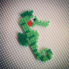 Seahorse hama beads by hadavedre