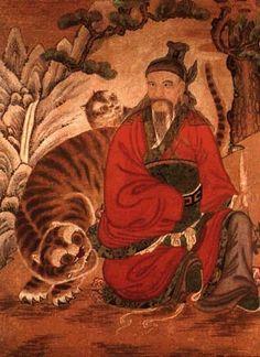 Sanshin, the Mountain Spirit
