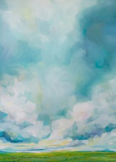 Landscape Art Print by Emily Jeffords on Etsy #oilpainting #painting