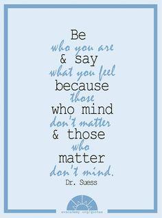 Those that matter <3