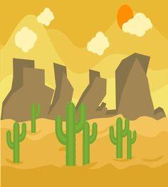 تصميم جميل صحراء رائعة ملف مفتوح