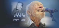 Video: Folk Singer and Activist Pete Seeger Dead at Age wrote hundreds of songs that were performed by many of the greats in American Folk Music. Folk Musik, American Folk Music, Bev Doolittle, Pete Seeger, Joan Baez, Bob Hope, Thanks For The Memories, Abc News, Picture Quotes