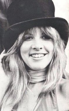 Stevie Nicks...She said got this iconic tophat in Buffalo :)))