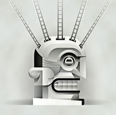 Vectorial Illustrations by Mauco Sosa, via Behance