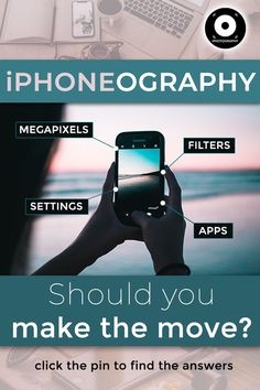Mobile photography is becoming more popular every year. Could you swap your camera to explore the world of iphoneography? Features and facts discovered! Best Photography Blogs, Low Key Photography, Photography Cheat Sheets, Photography Gear, Iphone Photography, Mobile Photography, Video Photography, Photography Business, Amazing Photography