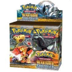 Pokemon Karten - hier 25520 - Heartgold und Soulsilver 01 Booster deutsch