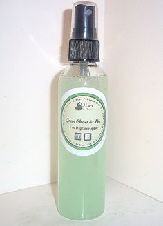 Spritz the fresh outdoors anywhere with this Green Clover and Aloe fragrance spray! With a hint of citrus and jasmine, there are also slight bottom notes of woods and musk for your nature lovers. For a clean scent this spring, try Green Clover and Aloe!    Made from an all natural base, this spray can be used anywhere, including yoga mats, your car - it's even safe enough to use as a body spray! $5.89