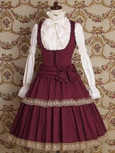 Mary Magdalene / Jumper Skirt / Elodie Doll JSK