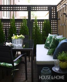 DIY Small Patio Makeover On A Budget | Learn how to update a small city patio on…