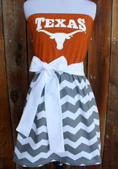 University+of+Texas+Longhorns+Game+Day+Dress+++by+jillbenimble,+$52.00