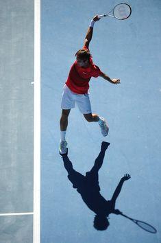 Federer has the most elegant backhand I've ever seen in tennis.