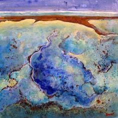 Nature Paintings, Landscape Paintings, Australian Desert, Australian Artists, Art Lessons, Watercolor Tattoo, Abstract Art, Artwork, Image