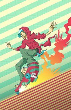 Various Illustrations on Behance by SKINPOP Studio - Mexico | Illustration \ Ilustração | Desenho | Drawing | Draw | Sketch | Comic |