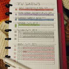 TV Series Tracker by @_kris.marie