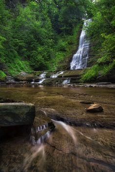 Warsaw Falls by Mark Papke. Prints available on my website. #waterfall #landscapephotography #naturephotography #photography