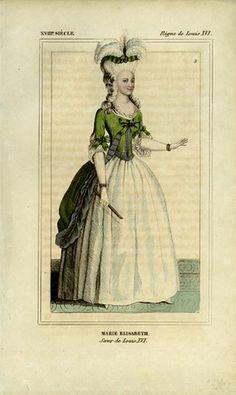 https://flic.kr/p/6kh4uV | 18th century fashion plate 9 | Fashion of Louis XVI's period.