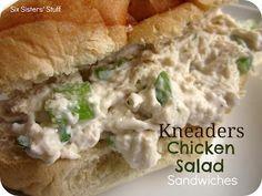 Kneaders Chicken Salad Sandwich Recipe / Six Sisters' Stuff | Six Sisters' Stuff