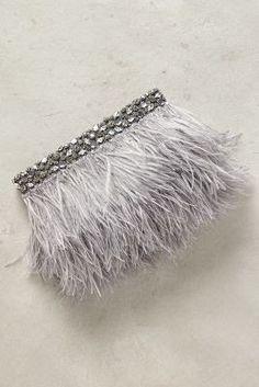 eef0a8ebd Anthropologie Favorites: Must Have: Feathers and Fur Bolsos De Noche, Bolsos  De Mano