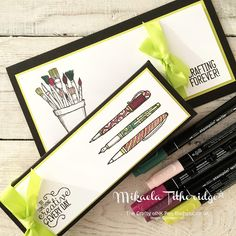 Mikaela Titheridge, UK Independent Stampin' Up! Demonstrator, Crafting Forever Gift Vouchers and Pen Holder