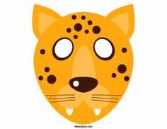 Printable Cheetah Mask   Pinterest   Cheetahs, Cheetah crafts and Craft