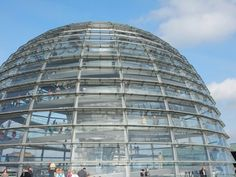 Great round dome of the reichstag