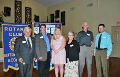 #rotaryclub of Dawson County's 2013-2014 board.
